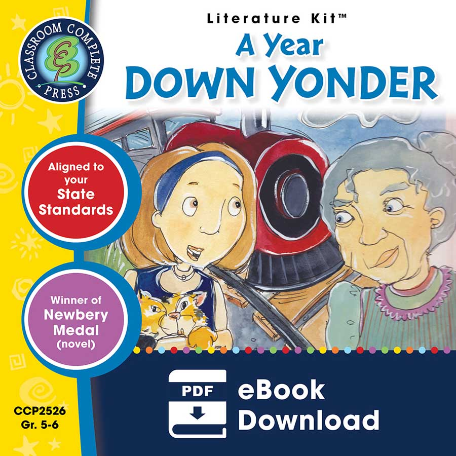 A Year Down Yonder - Literature Kit Gr. 5-6 - eBook