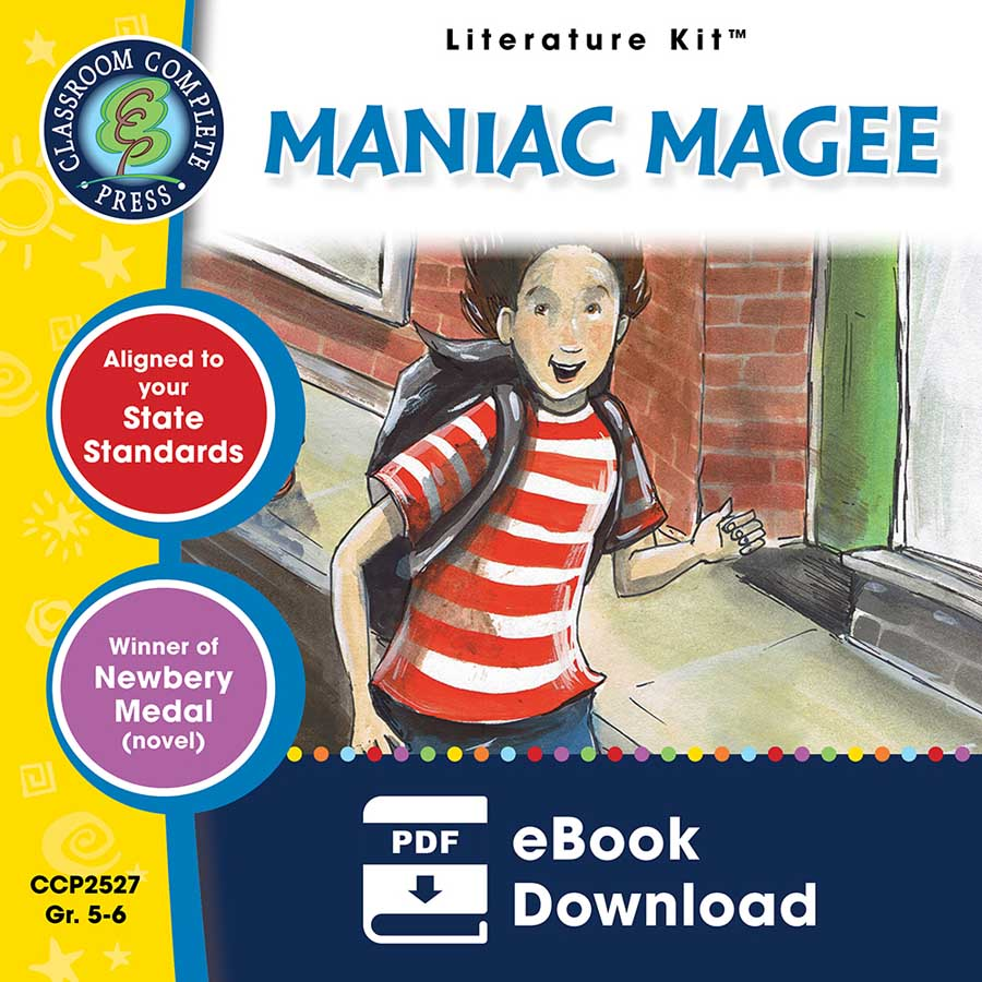 Maniac Magee - Literature Kit Gr. 5-6 - eBook