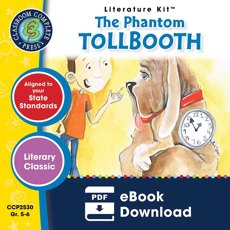 The Phantom Tollbooth - Literature Kit Gr. 5-6 - eBook