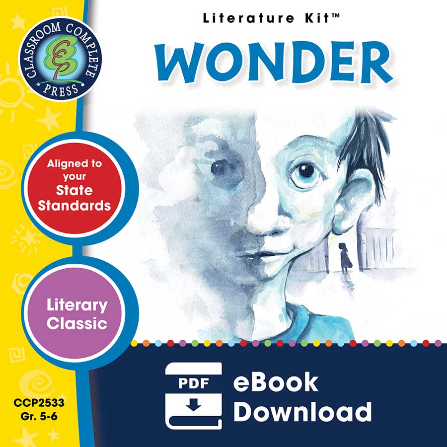 Wonder - Literature Kit Gr. 5-6 - eBook
