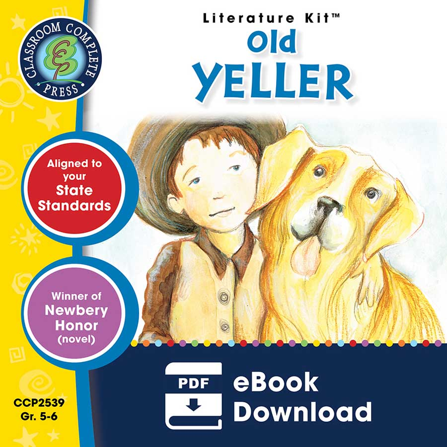 Old Yeller - Literature Kit Gr. 5-6 - eBook