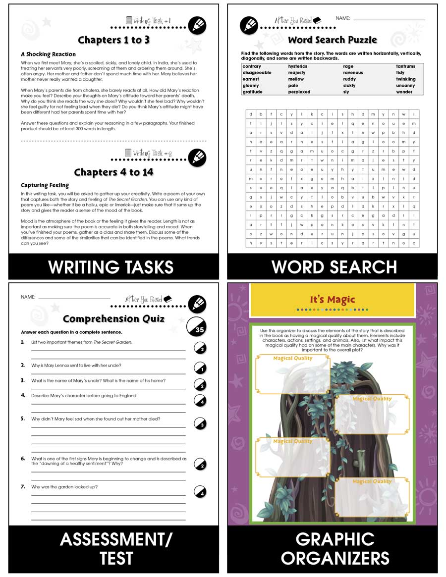 The Secret Garden - Literature Kit Gr. 5-6 - eBook