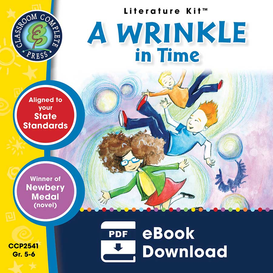 A Wrinkle in Time - Literature Kit Gr. 5-6 - eBook