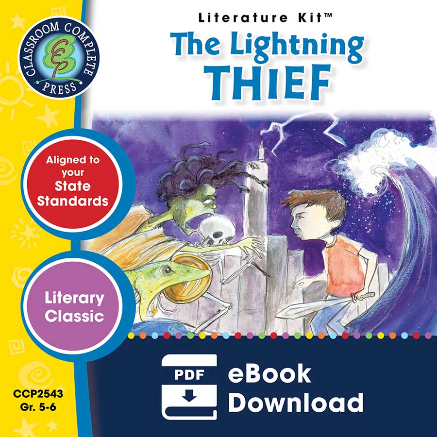 The Lightning Thief - Literature Kit Gr. 5-6 - eBook