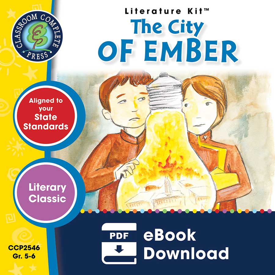 The City of Ember - Literature Kit Gr. 5-6 - eBook