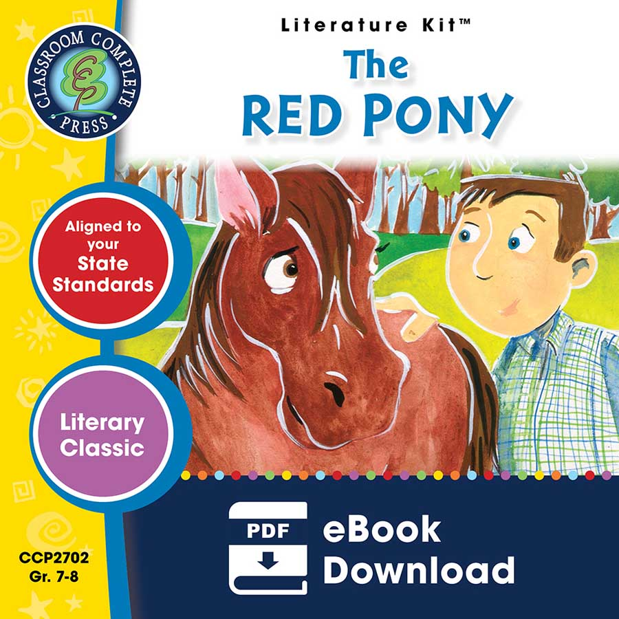 The Red Pony - Literature Kit Gr. 7-8 - eBook