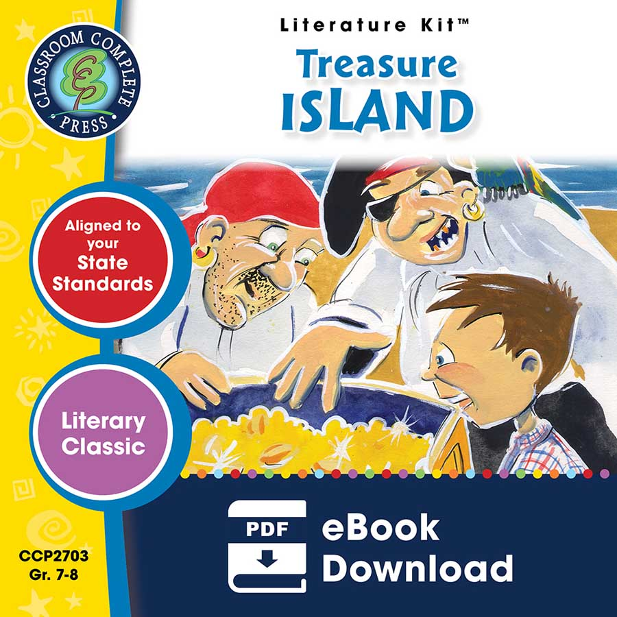 Treasure Island - Literature Kit Gr. 7-8 - eBook