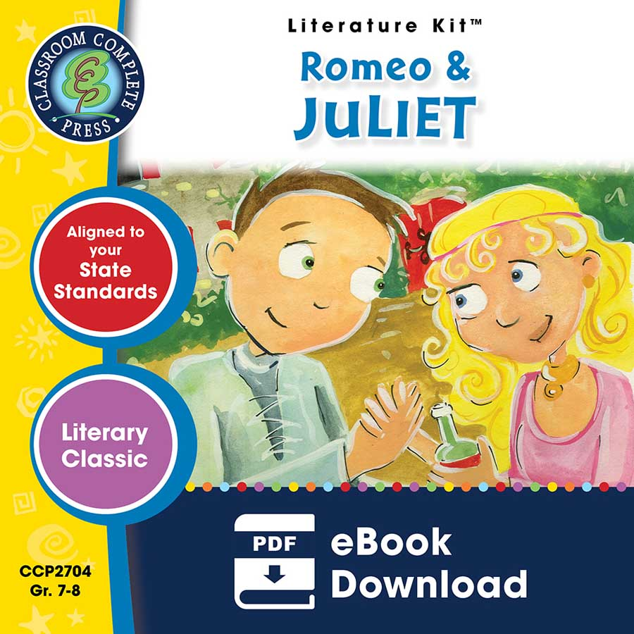 Romeo & Juliet - Literature Kit Gr. 7-8 - eBook