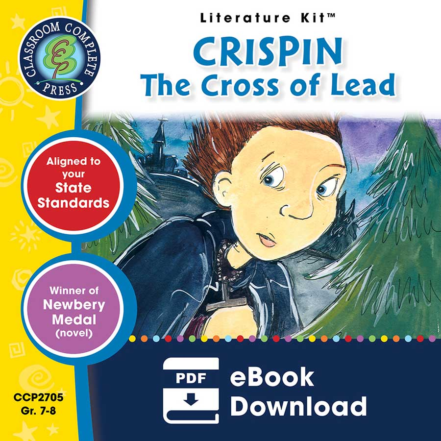 Crispin: The Cross of Lead - Literature Kit Gr. 7-8 - eBook