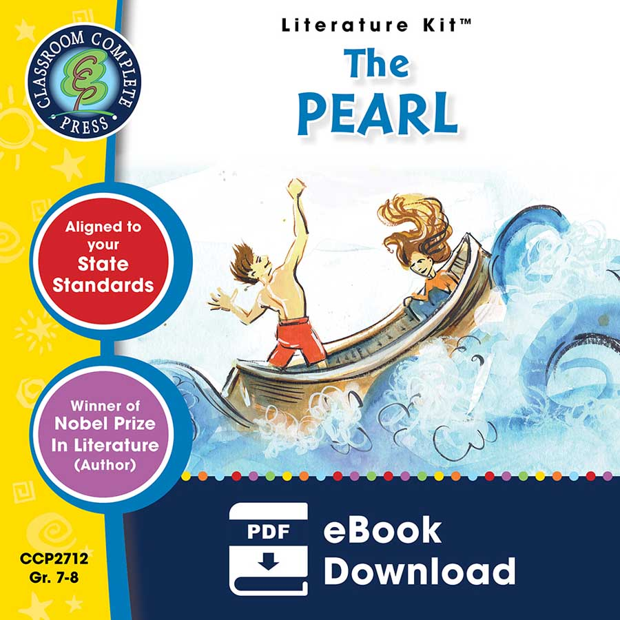 The Pearl - Literature Kit Gr. 7-8 - eBook