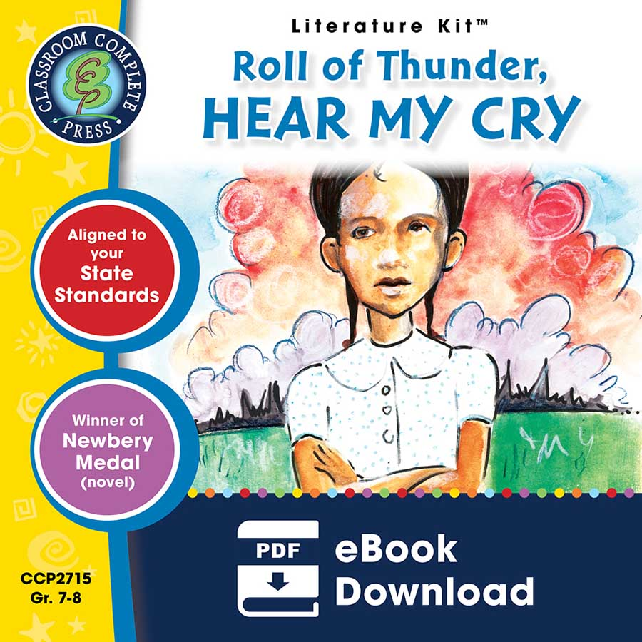 Roll of Thunder, Hear My Cry - Literature Kit Gr. 7-8 - eBook