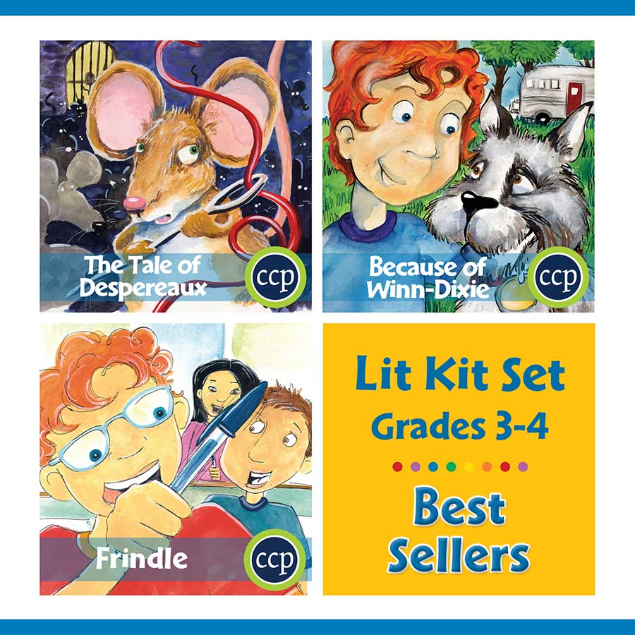 Best Sellers Lit Kit Set - Gr. 3-4 - eBook