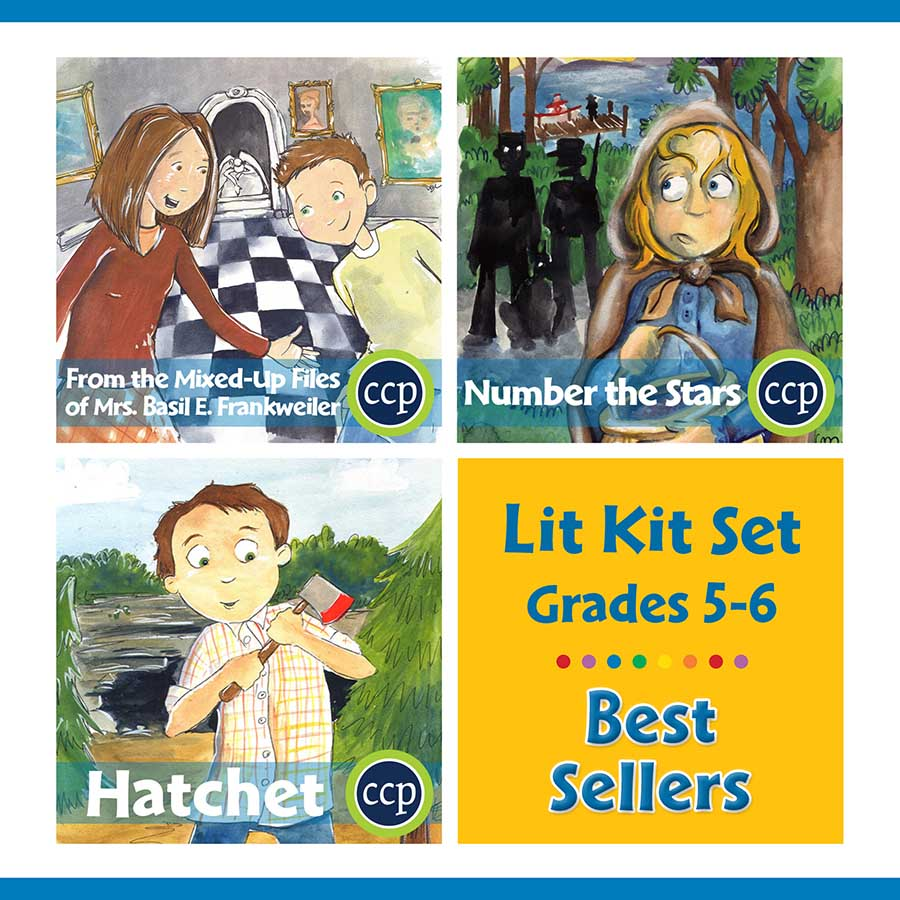 Best Sellers Lit Kit Set - Gr. 5-6 - eBook
