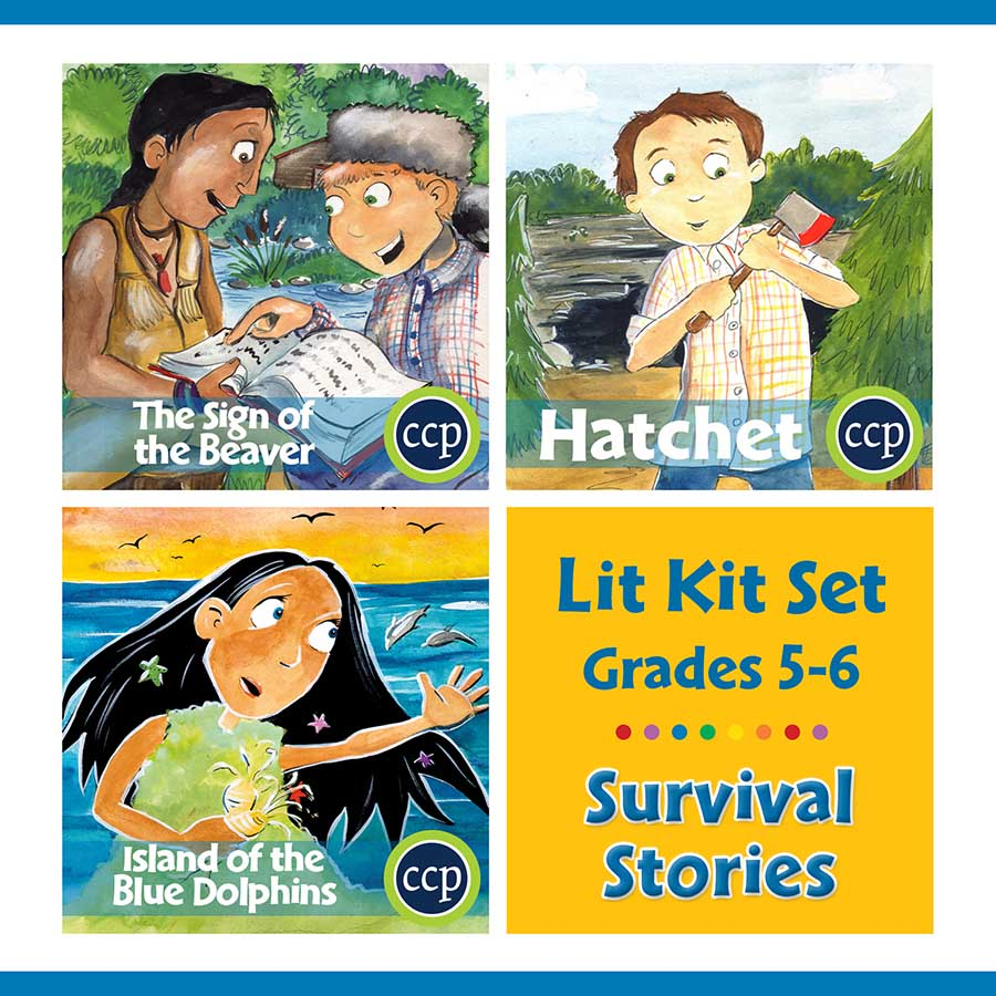 Survival Stories Lit Kit Set - Gr. 5-6 - eBook