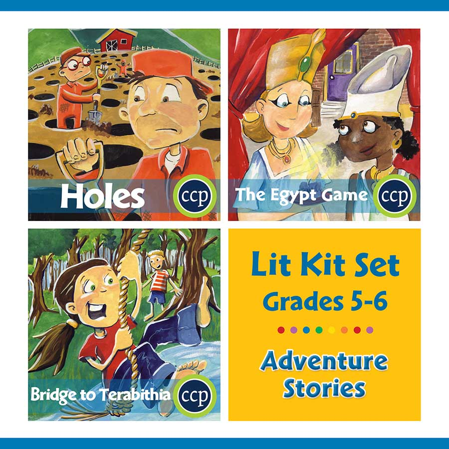 Adventure Stories Lit Kit Set - Gr. 5-6 - eBook