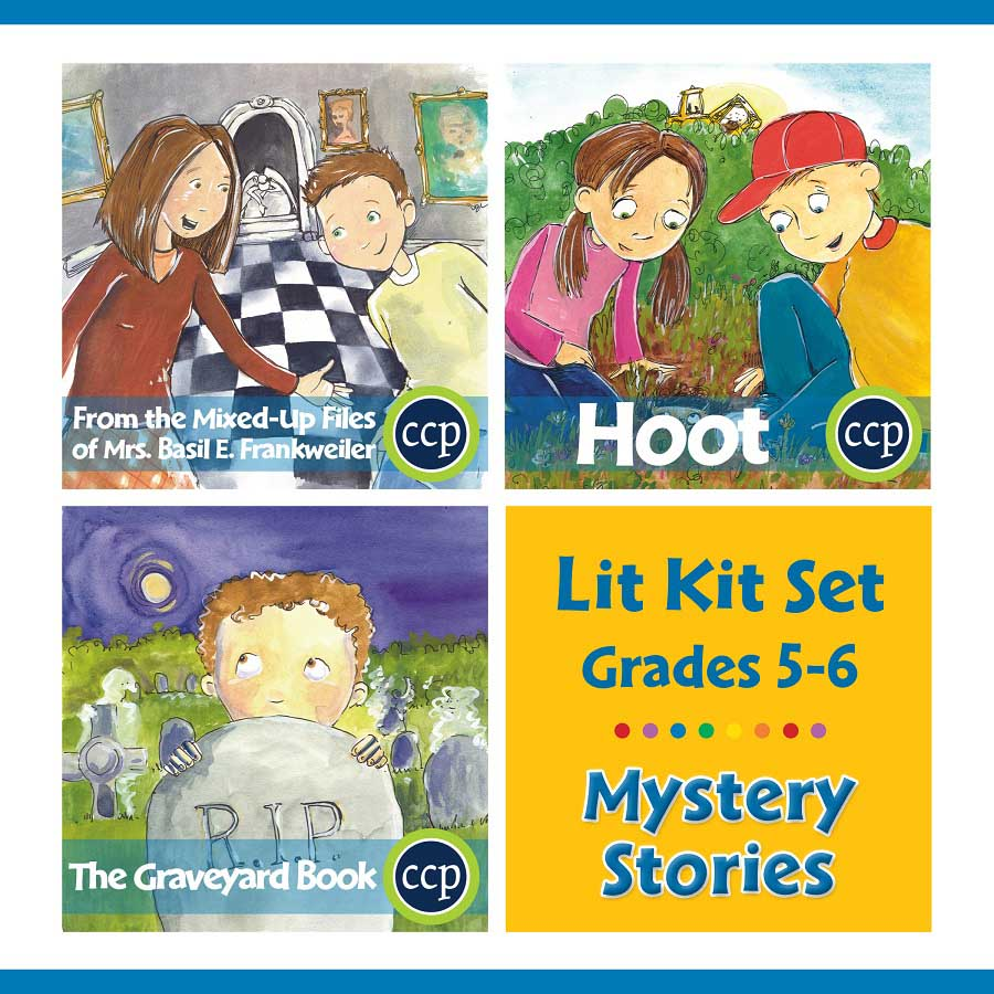 Mystery Stories Lit Kit Set - Gr. 5-6 - eBook