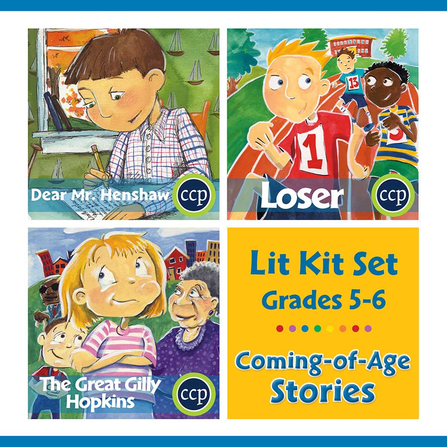 Coming-of-Age Stories Lit Kit Set - Gr. 5-6 - eBook