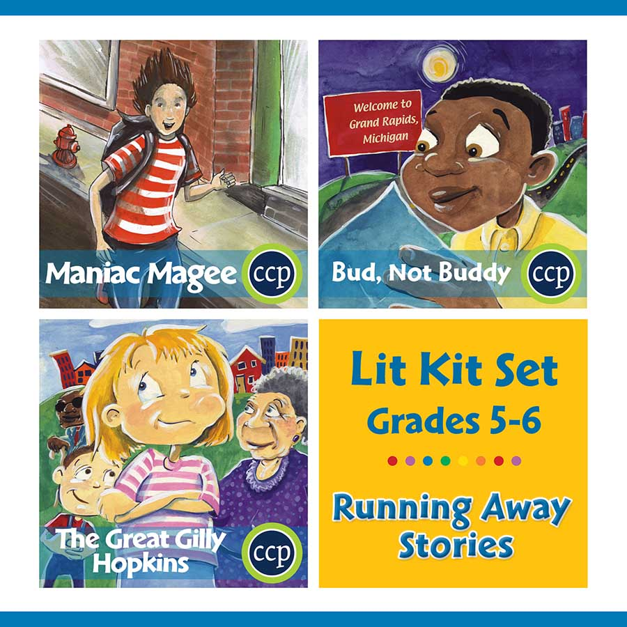 Running Away Stories Lit Kit Set - Gr. 5-6 - eBook