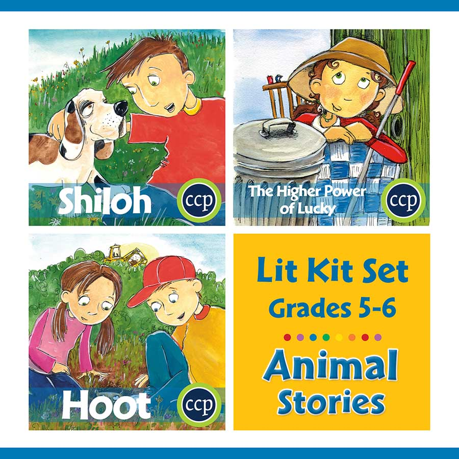 Animal Stories Lit Kit Set - Gr. 5-6 - eBook