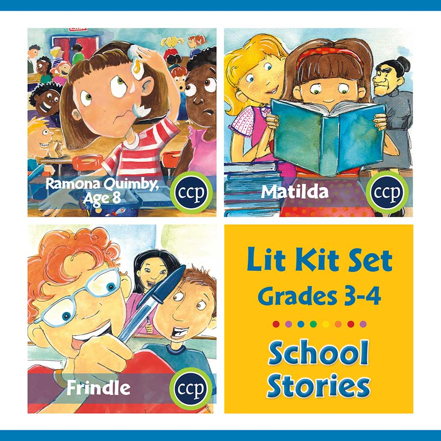 School Stories Lit Kit Set - Gr. 3-4 - eBook