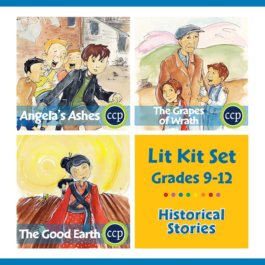 Historical Stories Lit Kit Set - Gr. 9-12 - eBook