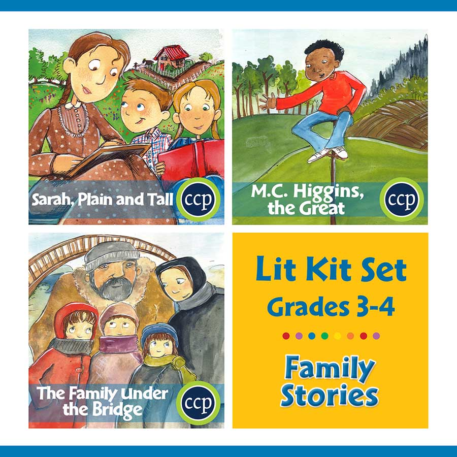 Family Stories Lit Kit Set - Gr. 3-4 - eBook