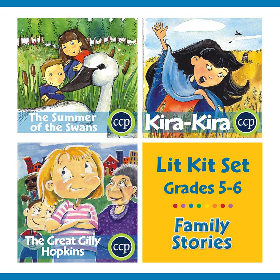 Family Stories Lit Kit Set - Gr. 5-6 - eBook