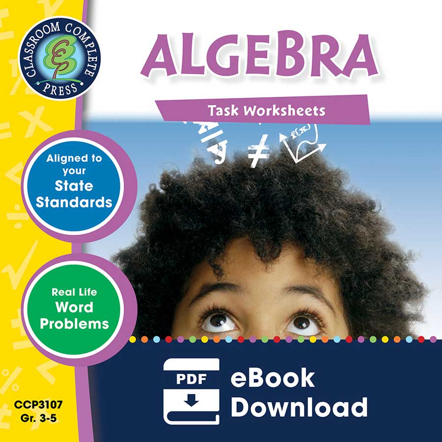 Algebra - Task Sheets Gr. 3-5 - eBook