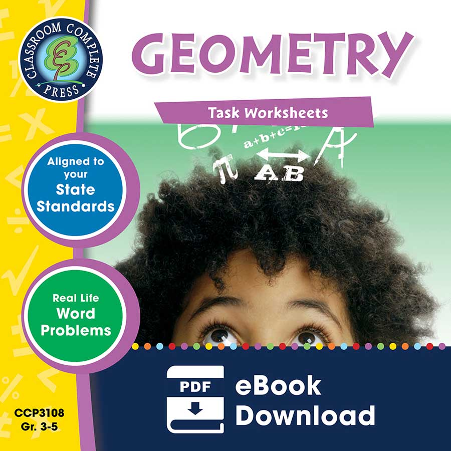 Geometry - Task Sheets Gr. 3-5 - eBook