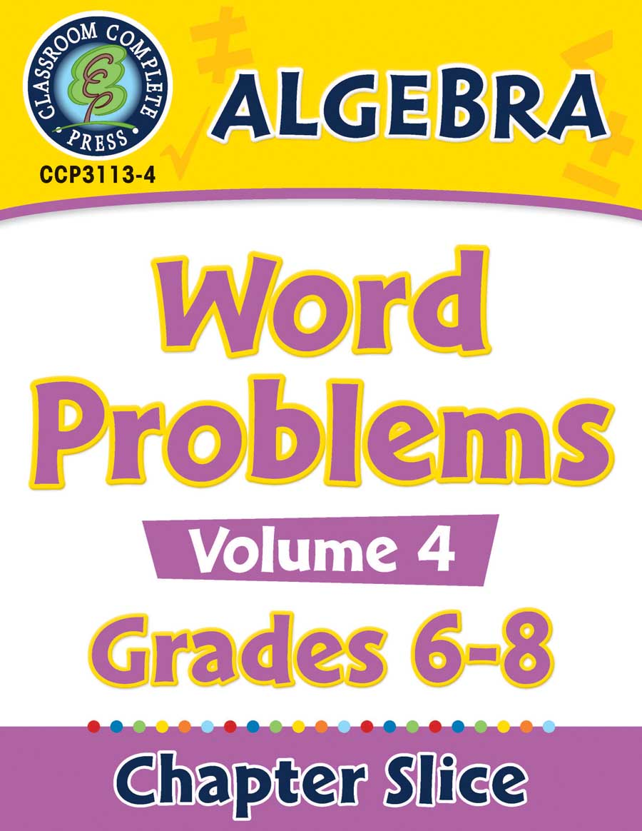 Algebra - Task Sheets Vol. 4 Gr. 6-8 - Chapter Slice eBook