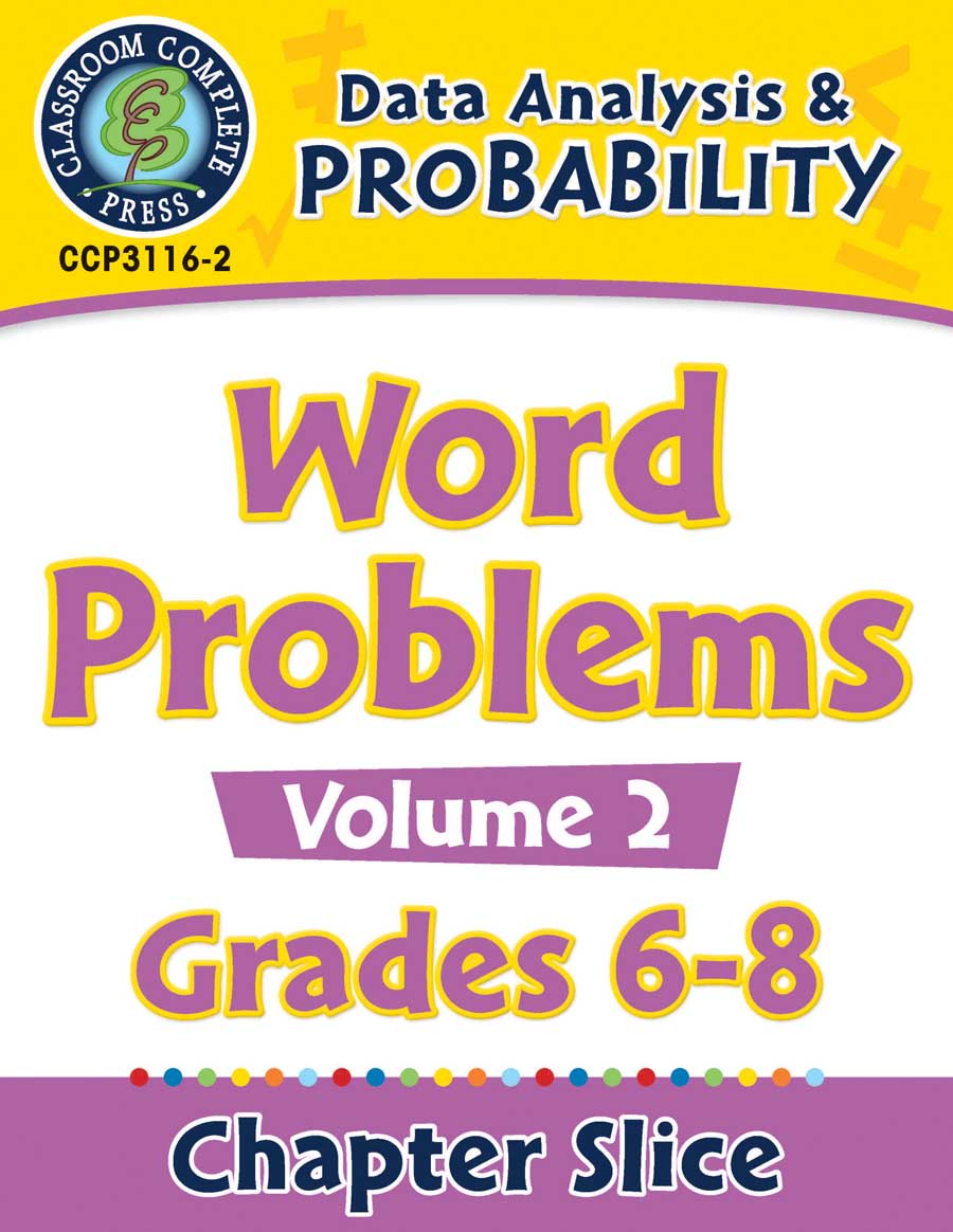 Data Analysis & Probability - Task Sheets Vol. 2 Gr. 6-8 - Chapter Slice eBook