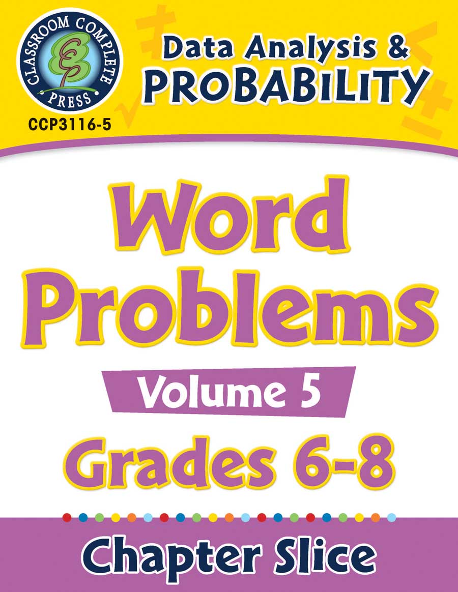Data Analysis & Probability - Task Sheets Vol. 5 Gr. 6-8 - Chapter Slice eBook