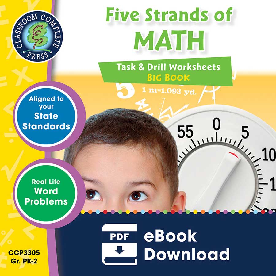 Five Strands of Math - Task & Drills Big Book