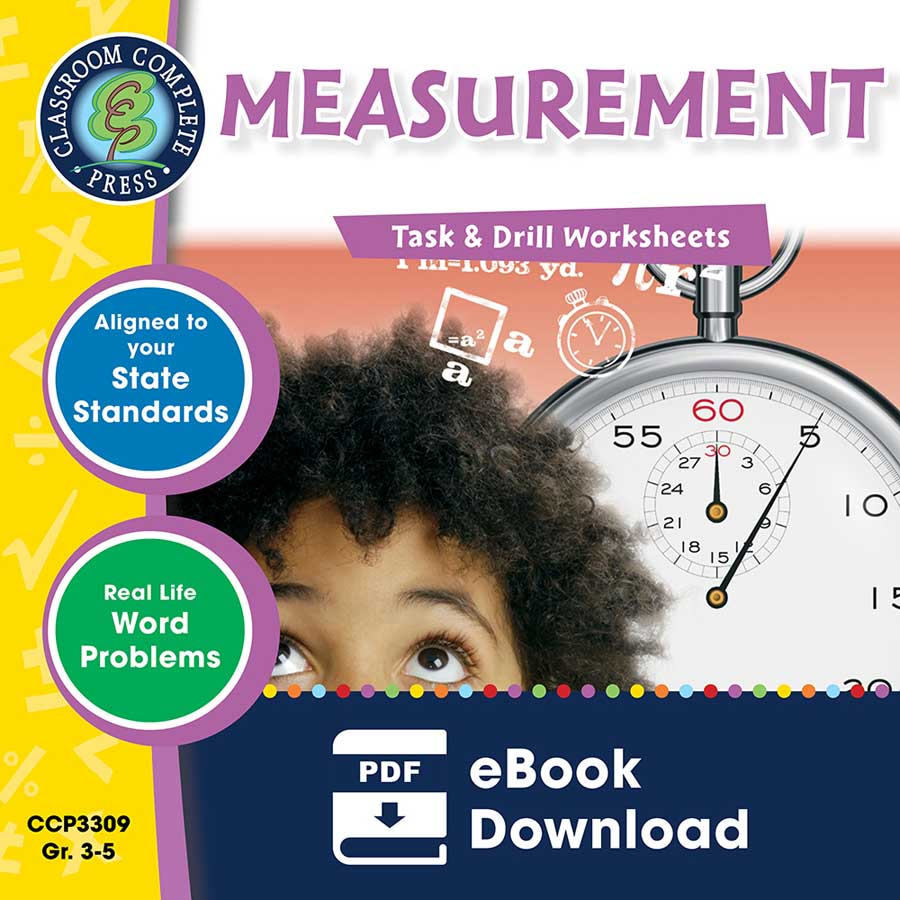 Measurement - Task & Drill Sheets Gr. 3-5 - eBook