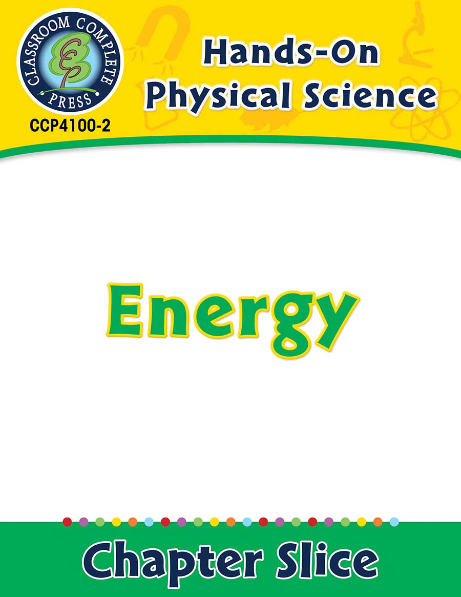 Hands-On - Physical Science: Energy Gr. 1-5 - Chapter Slice eBook