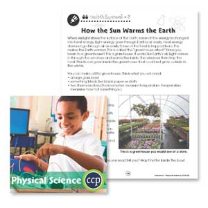 Physical Science: How the Sun Warms the Earth Gr. 1-5 - WORKSHEETS - eBook