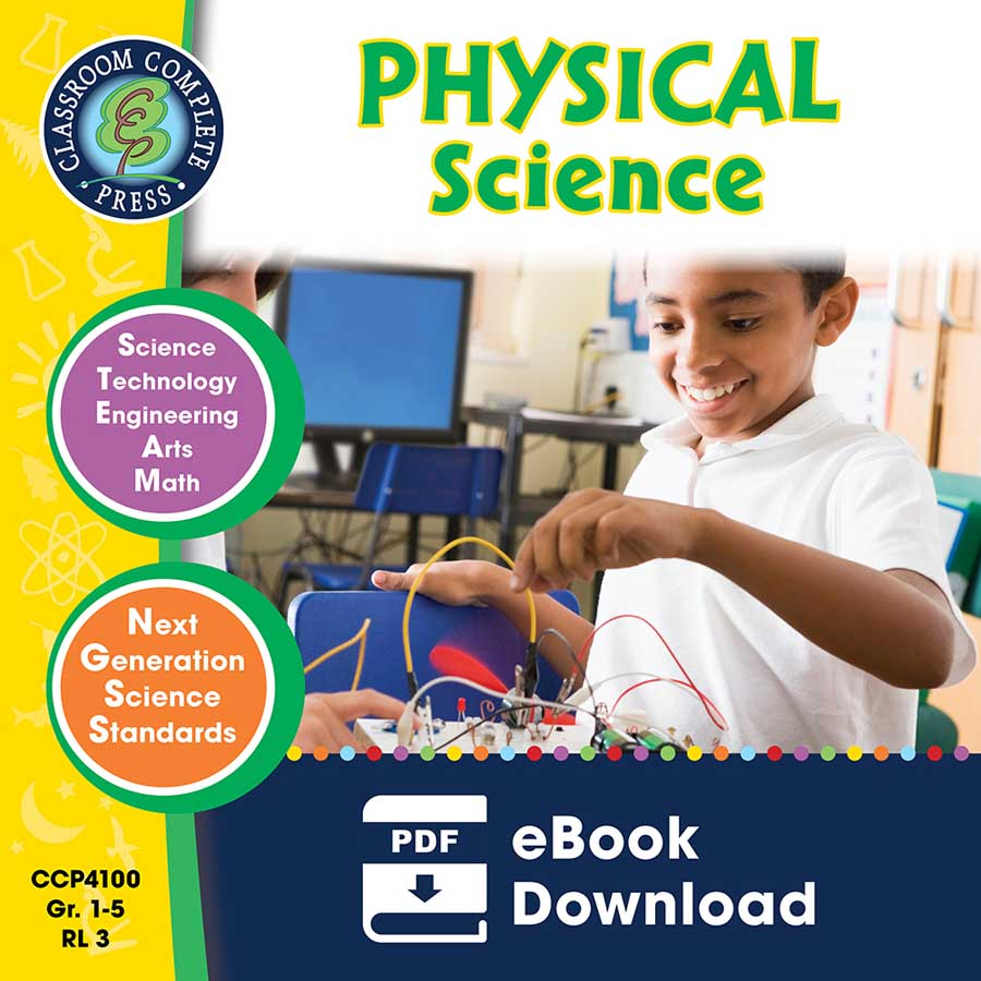 Hands-On STEAM - Physical Science Gr. 1-5 - eBook