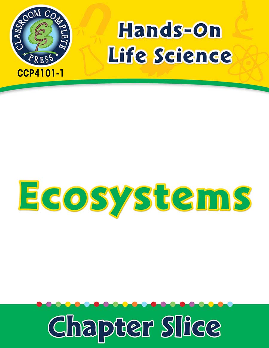 Hands-On - Life Science: Ecosystems Gr. 1-5 - Chapter Slice eBook