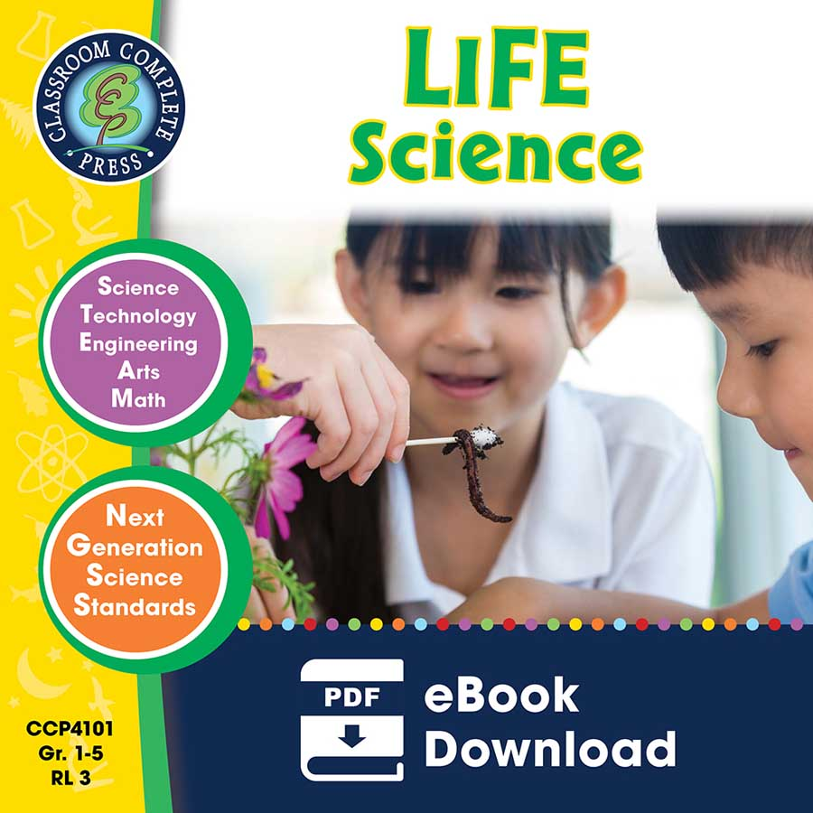 Hands-On STEAM - Life Science Gr. 1-5 - eBook