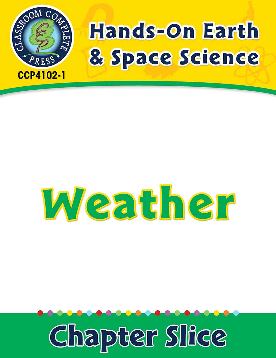 Hands-On - Earth & Space Science: Weather Gr. 1-5 - Chapter Slice eBook