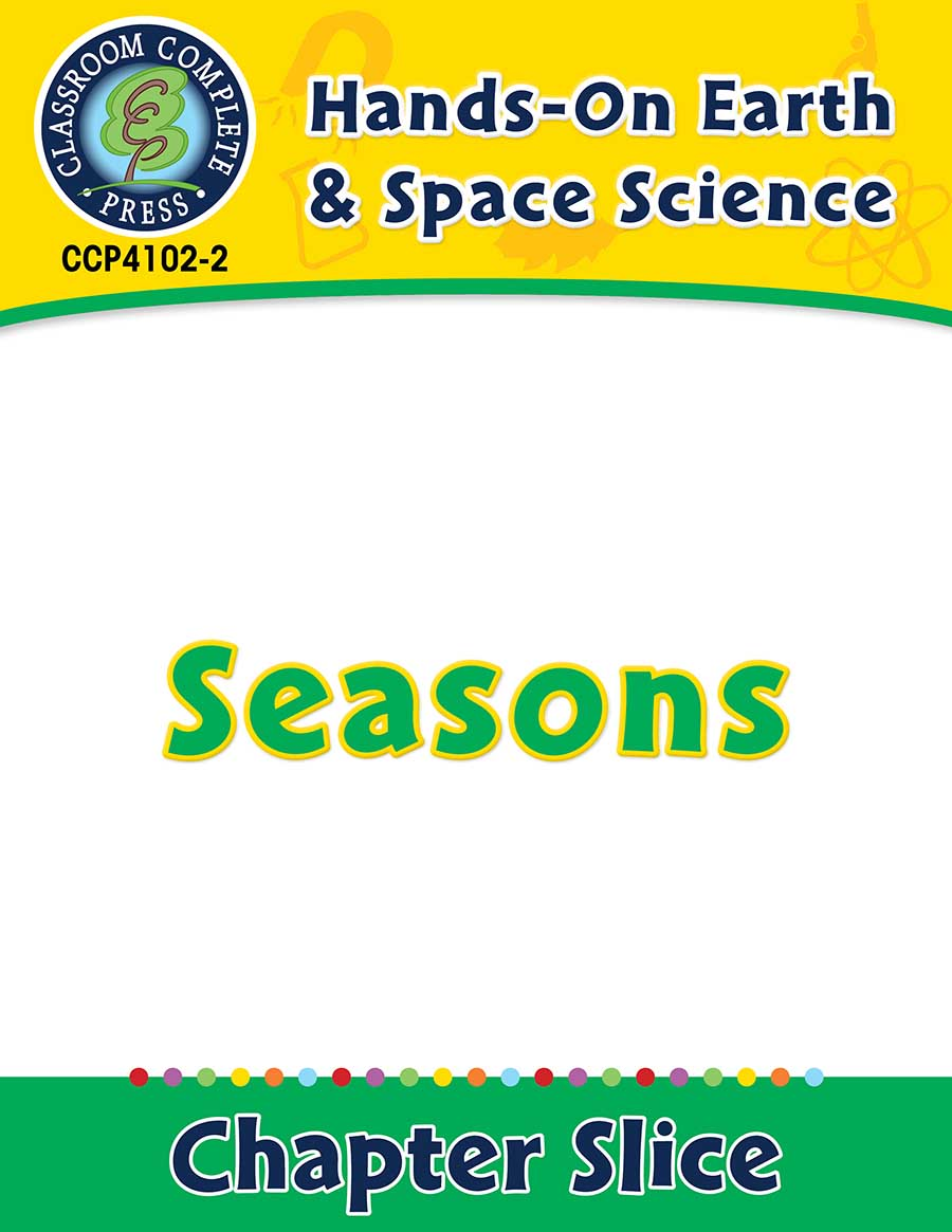 Hands-On - Earth & Space Science: Seasons Gr. 1-5 - Chapter Slice eBook