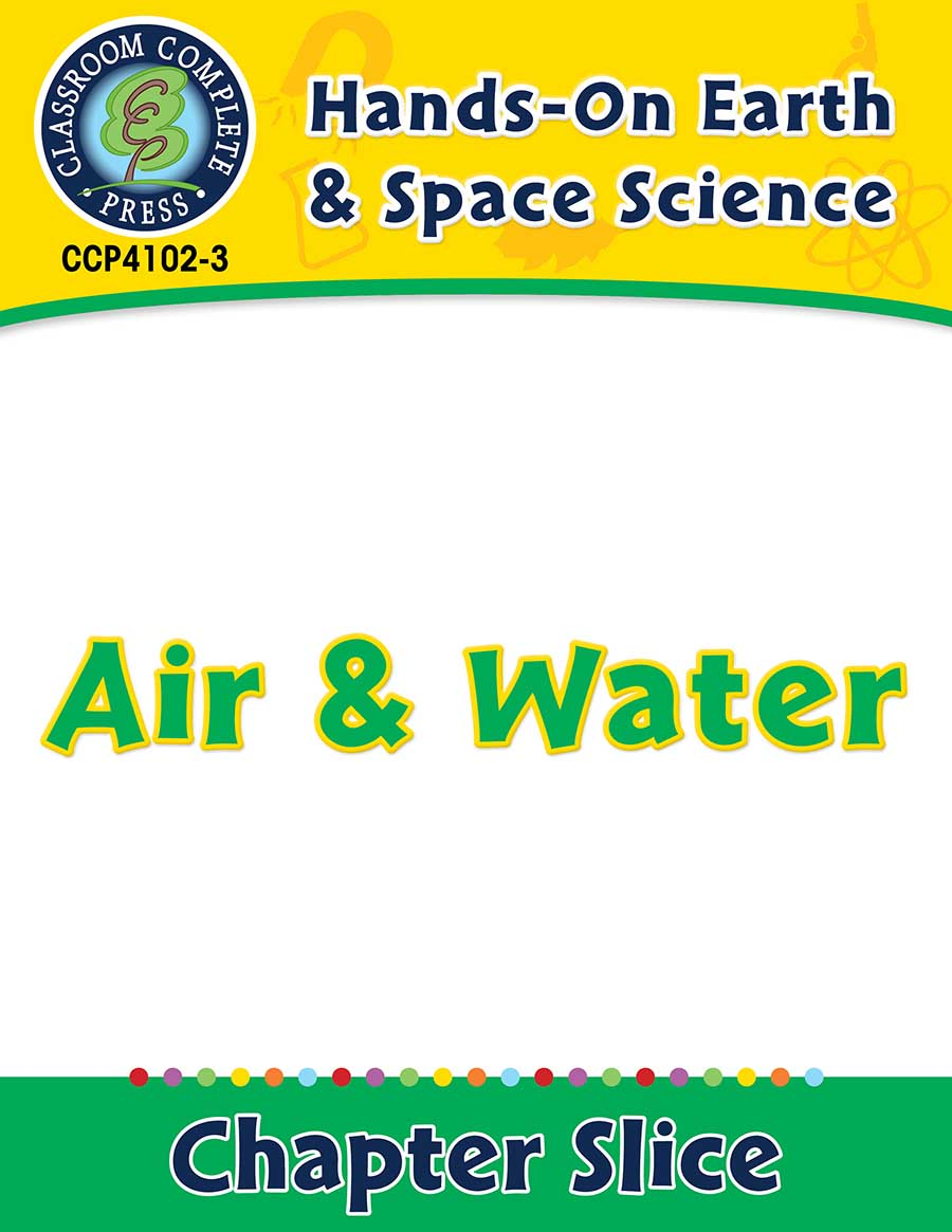 Hands-On - Earth & Space Science: Air and Water Gr. 1-5 - Chapter Slice eBook