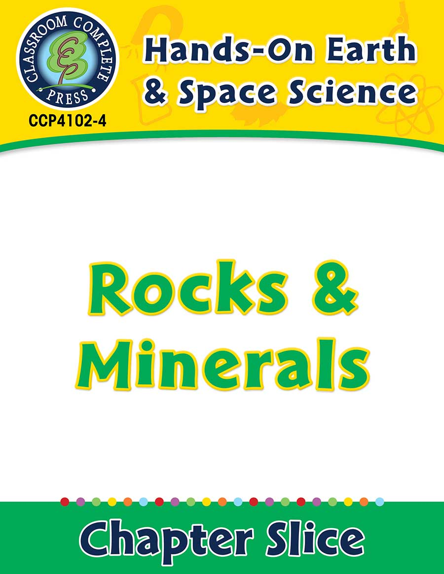 Hands-On - Earth & Space Science: Rocks and Minerals Gr. 1-5 - Chapter Slice eBook