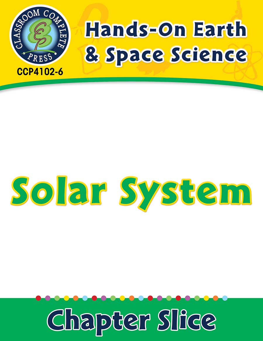 Hands-On - Earth & Space Science: Solar System Gr. 1-5 - Chapter Slice eBook