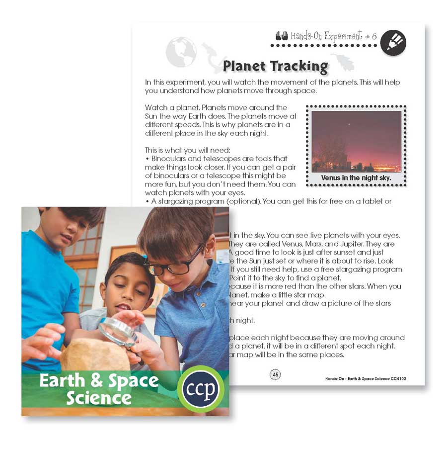Earth & Space Science: Planet Tracking Gr. 1-5 - WORKSHEETS - eBook