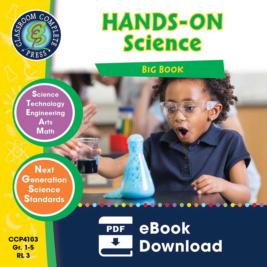 Hands-On STEAM Science Big Book Gr. 1-5 - eBook