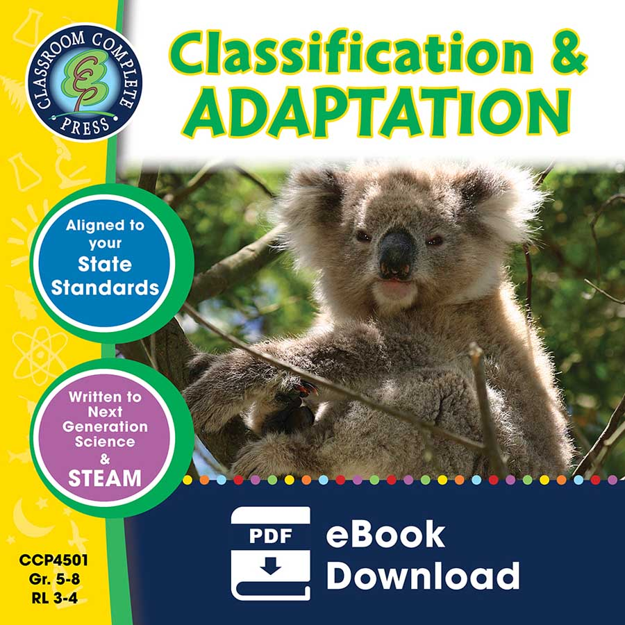 Classification & Adaptation Gr. 5-8 - eBook