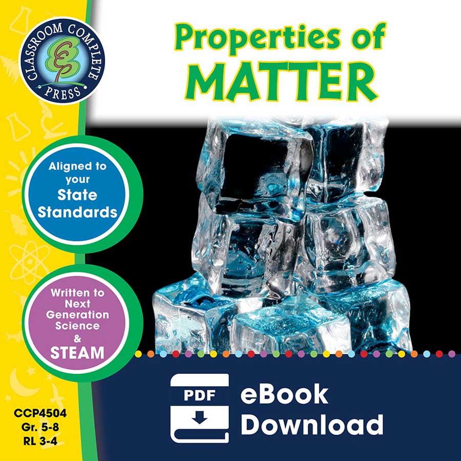 Properties of Matter Gr. 5-8 - eBook