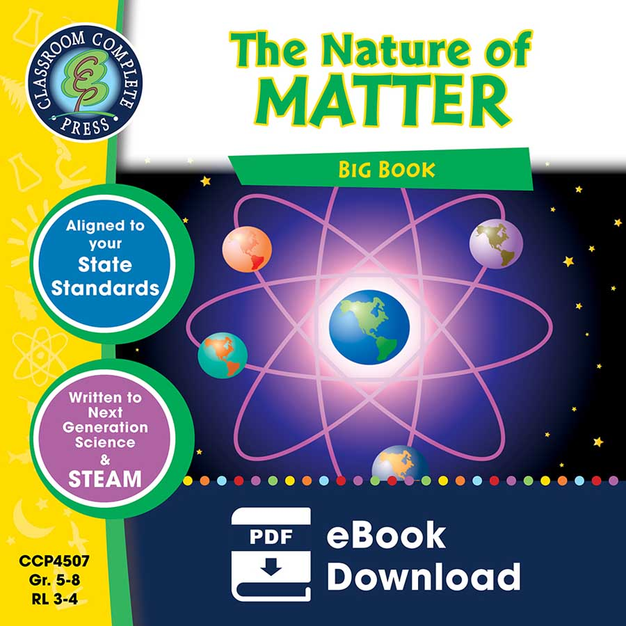 The Nature of Matter Big Book Gr. 5-8 - eBook
