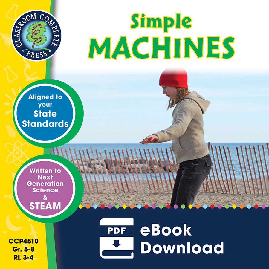Simple Machines Gr. 5-8 - eBook
